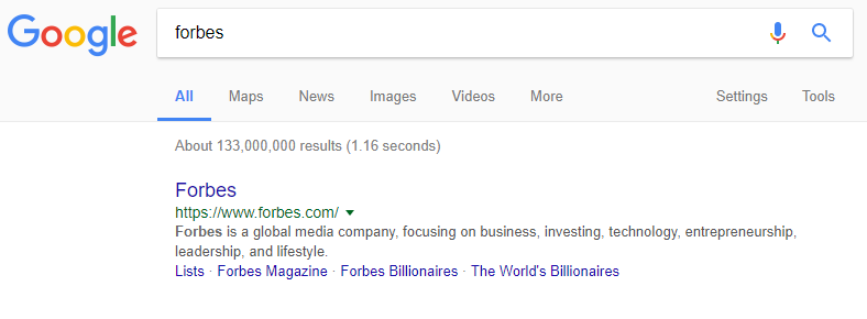 Google Search - Forbes