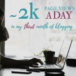 How I Went from ~1K Page Views a Month to ~2K Page Views a Day in My Third Month of Blogging