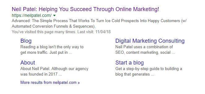 Neil Patel Google Grid