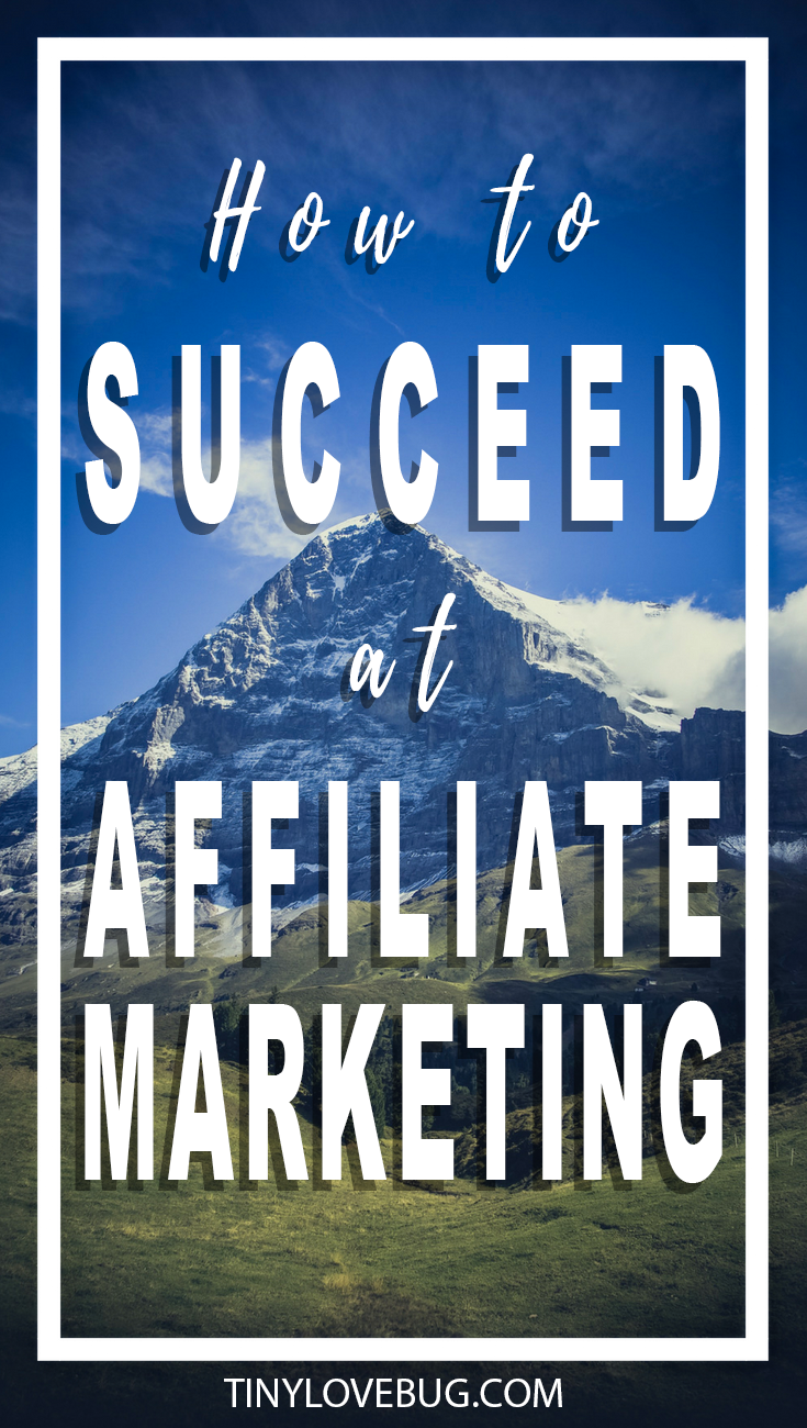 Want to succeed at affiliate marketing? Have a winning strategy in place and join affiliate programs that make your life easier. Here is how!#makemoneyblogging #makeyourblogprofitable
