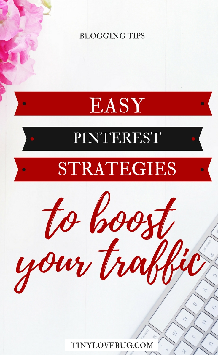 If used strategically, Pinterest is one of the most powerful tools to drive traffic to your blog. Here are some easy Pinterest strategies for new bloggers. Pinterest for bloggers. Pinterest marketing to boost your traffic #Pinteresttips #newbloggers