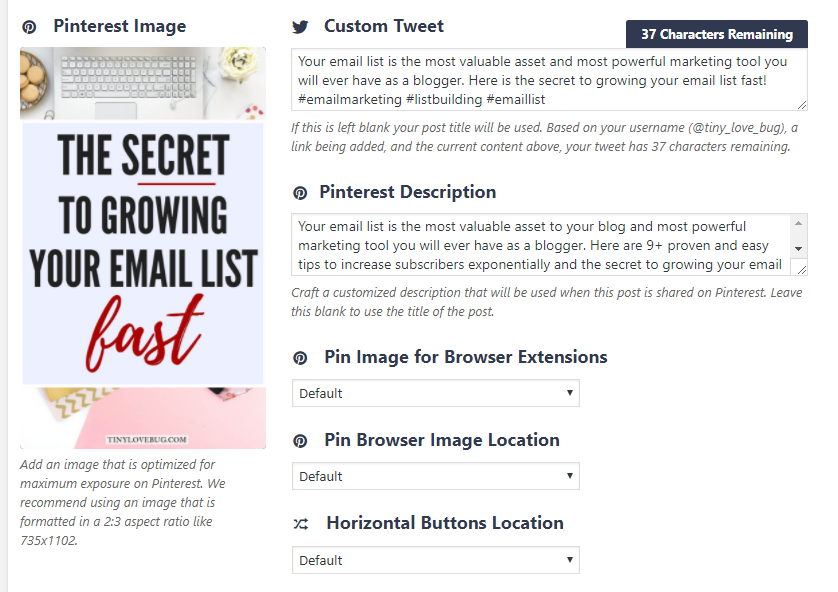 Pinterest for bloggers: use Social warfare
