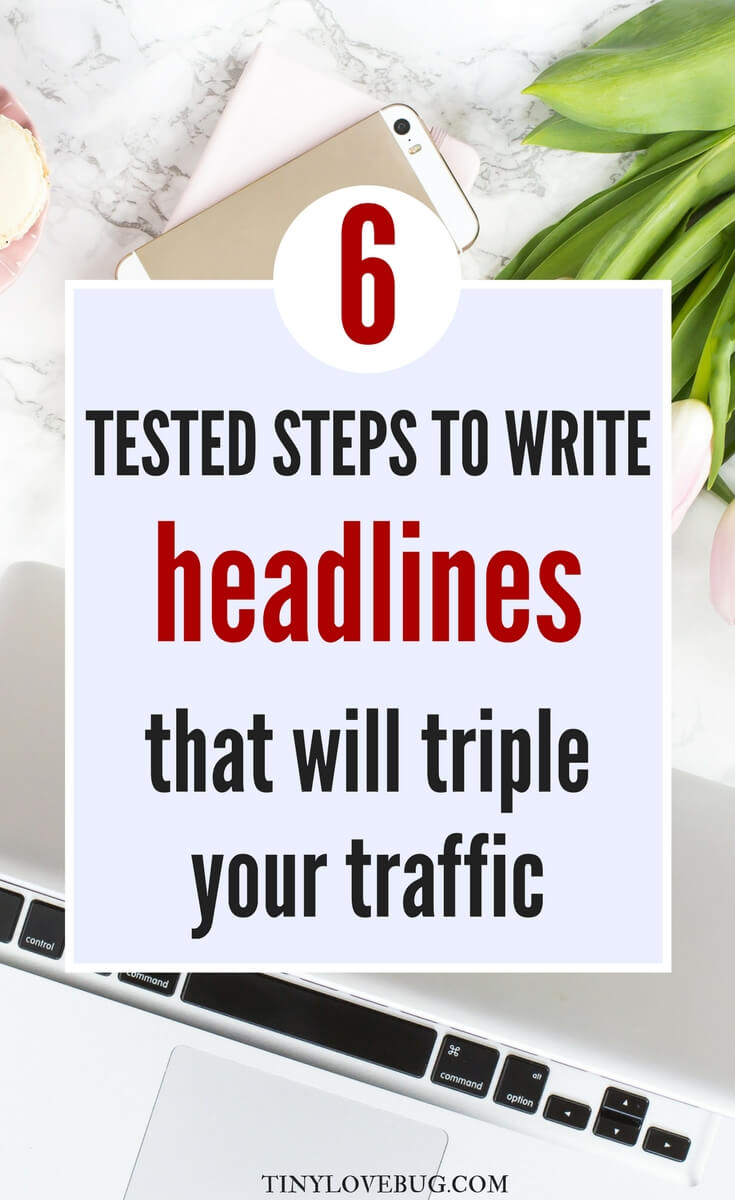 A better headline will bring you more traffic, make your blog post easier to find on search engines, and double your blog post's chances of being shared. Read the proven steps to write headlines that will boost your blog traffic. Write catchy headlines and triple your click-through rate. There is a way to have lots of traffic to your blog: write the perfect headline.  #Blogtraffic #bloggingtips