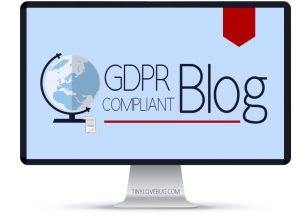 GDPR compliant blog course w