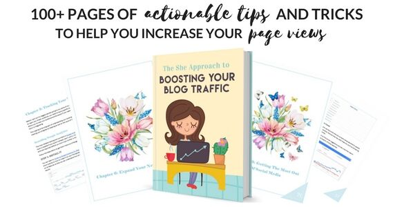 How to Boost Your Blog Traffic E-book