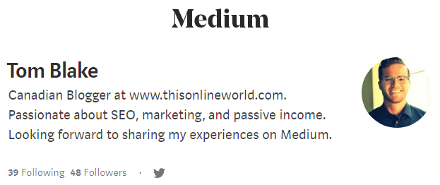 increasing blog traffic with Medium