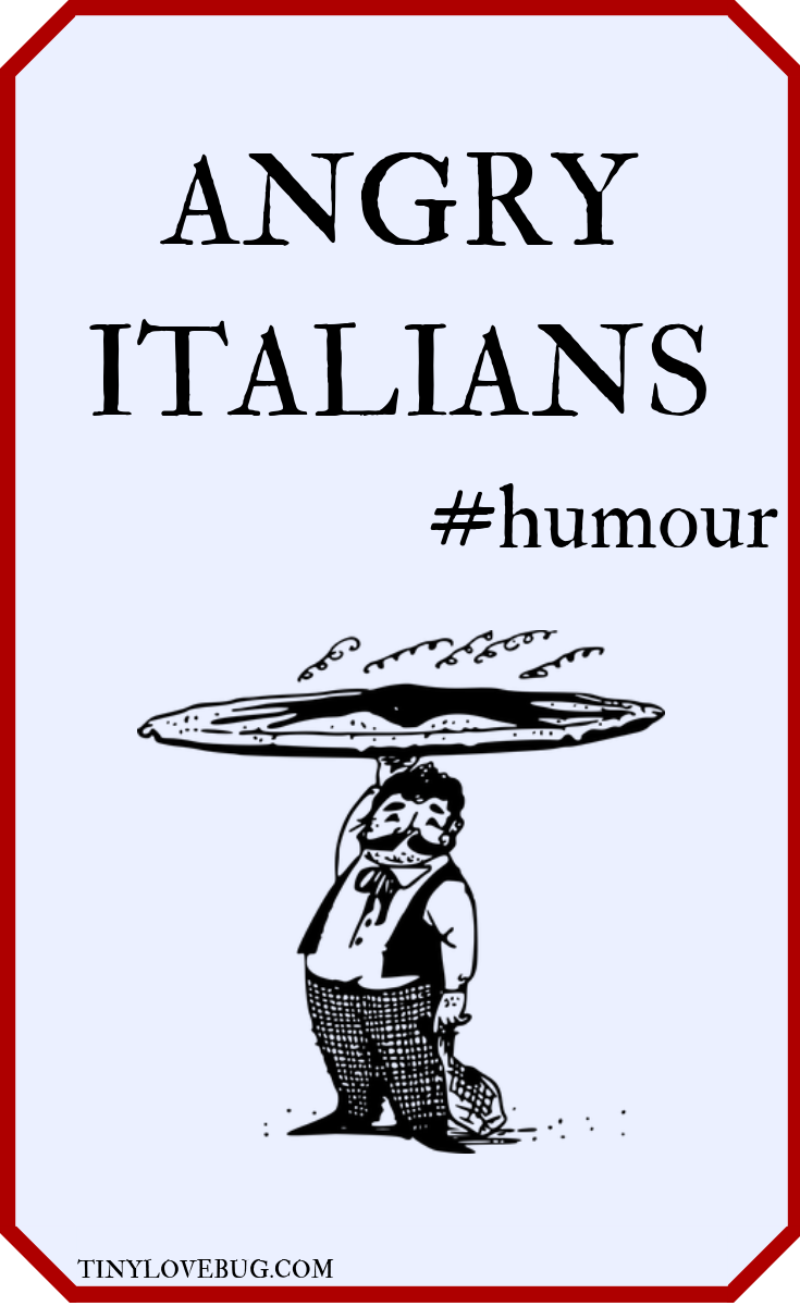 The Italian people are singular in their pursuit of good food, and not only that, they are very vocal in their objection to anything that is not up to Nonna's standard. #humour