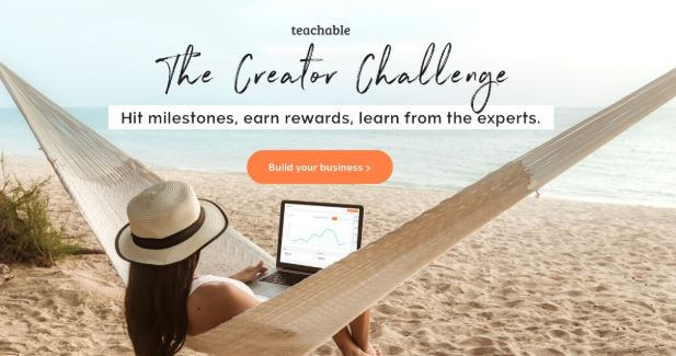 banner Teachable Creator Challenge