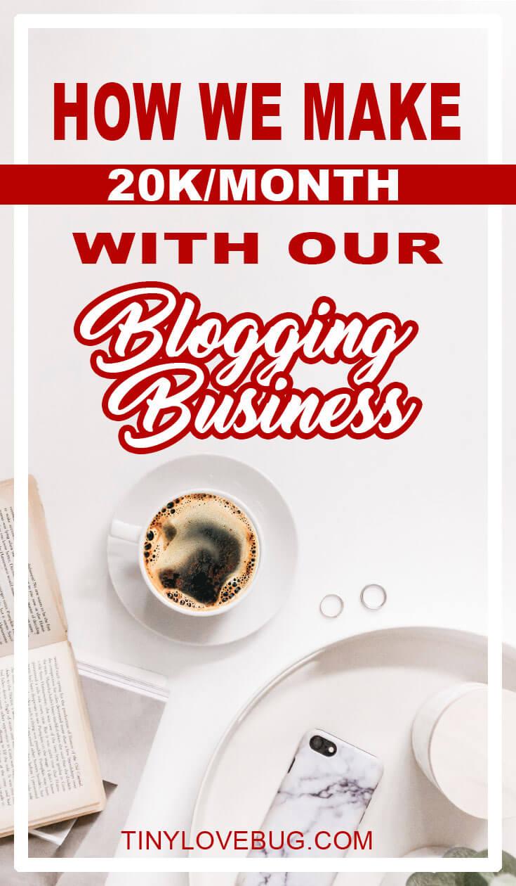 This couple makes 20k a month with their blogging business.  Learn how to make money blogging with affiliate marketing. If you are struggling to monetise your blog read through and steal their secrets! Actionable tips on generating passive income. Make your blog profitable now! #makemoneyblogging #affiliatemarketing
