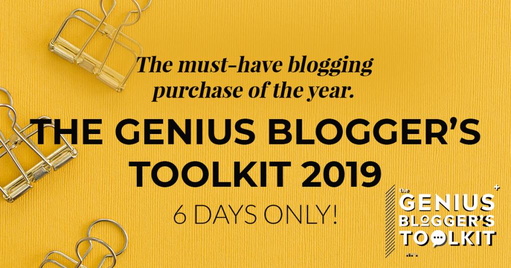 Genius Blogger's Tollkit 2019
